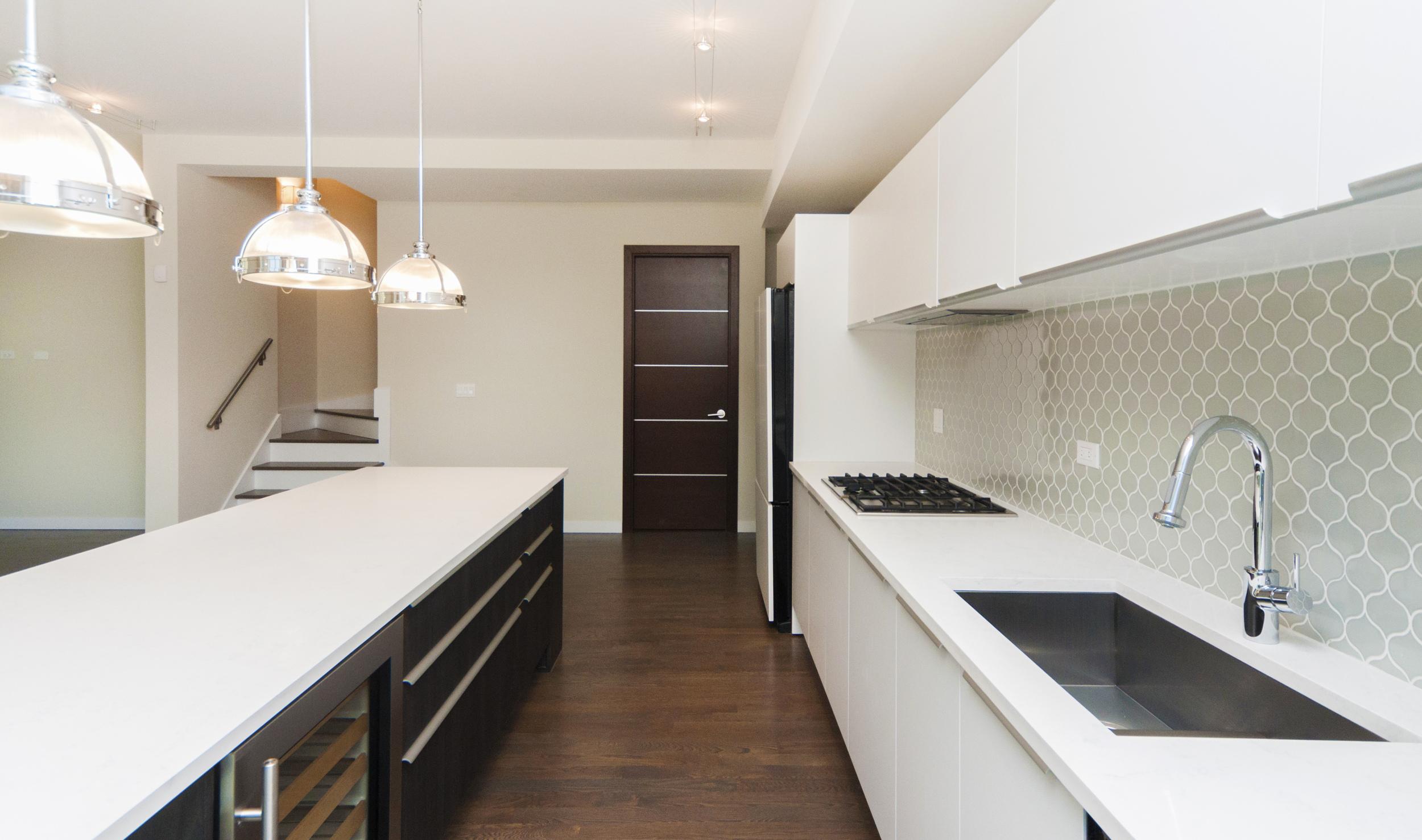 1000 North Damen Chicago Illinois Interior Kitchen TARIS Real Estate