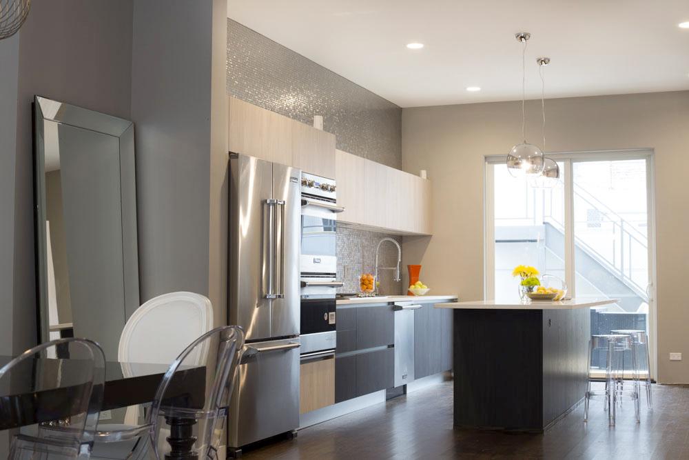 2111 West Race Chicago Interior Kitchen TARIS Real Estate