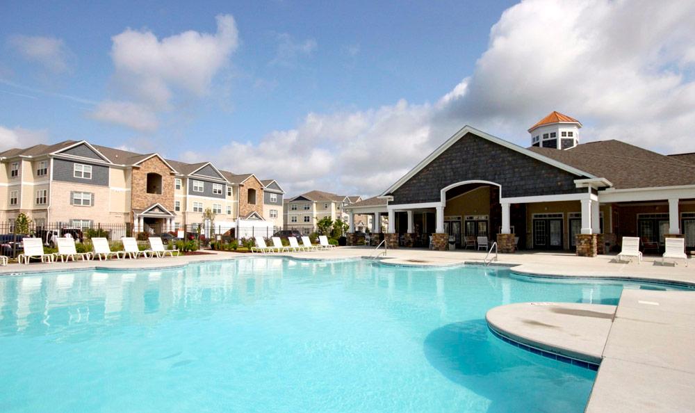 Arlington West Exterior Pool Jacksonville North Carolina TARIS Real Estate