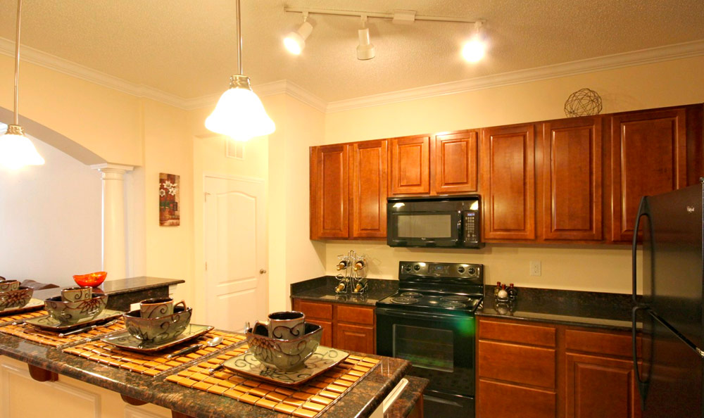 Arlington West Interior Kitchen Jacksonville North Carolina TARIS Real Estate