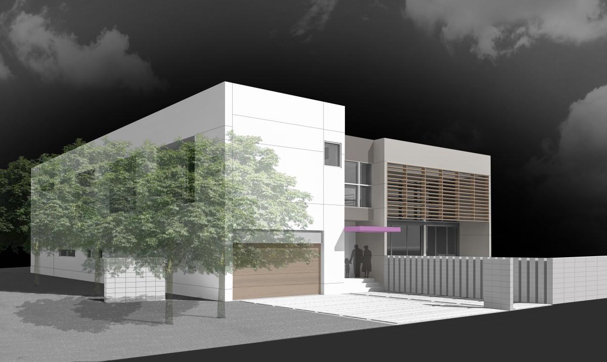 The Setting Homes Plum House II Miami Florida Exterior Render TARIS Real Estate