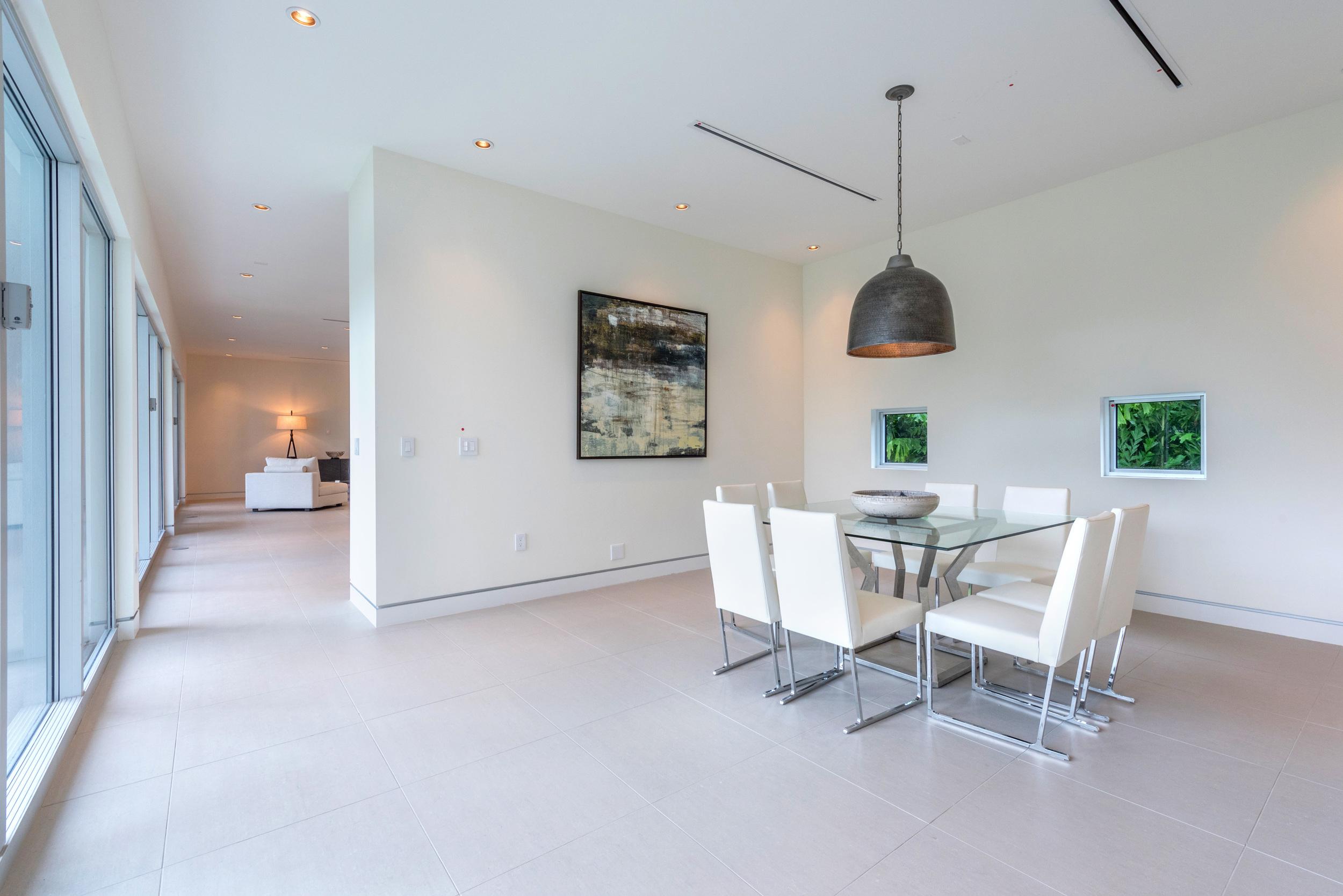 The Setting Homes Plum House Miami Florida Interior Dining Room TARIS Real Estate