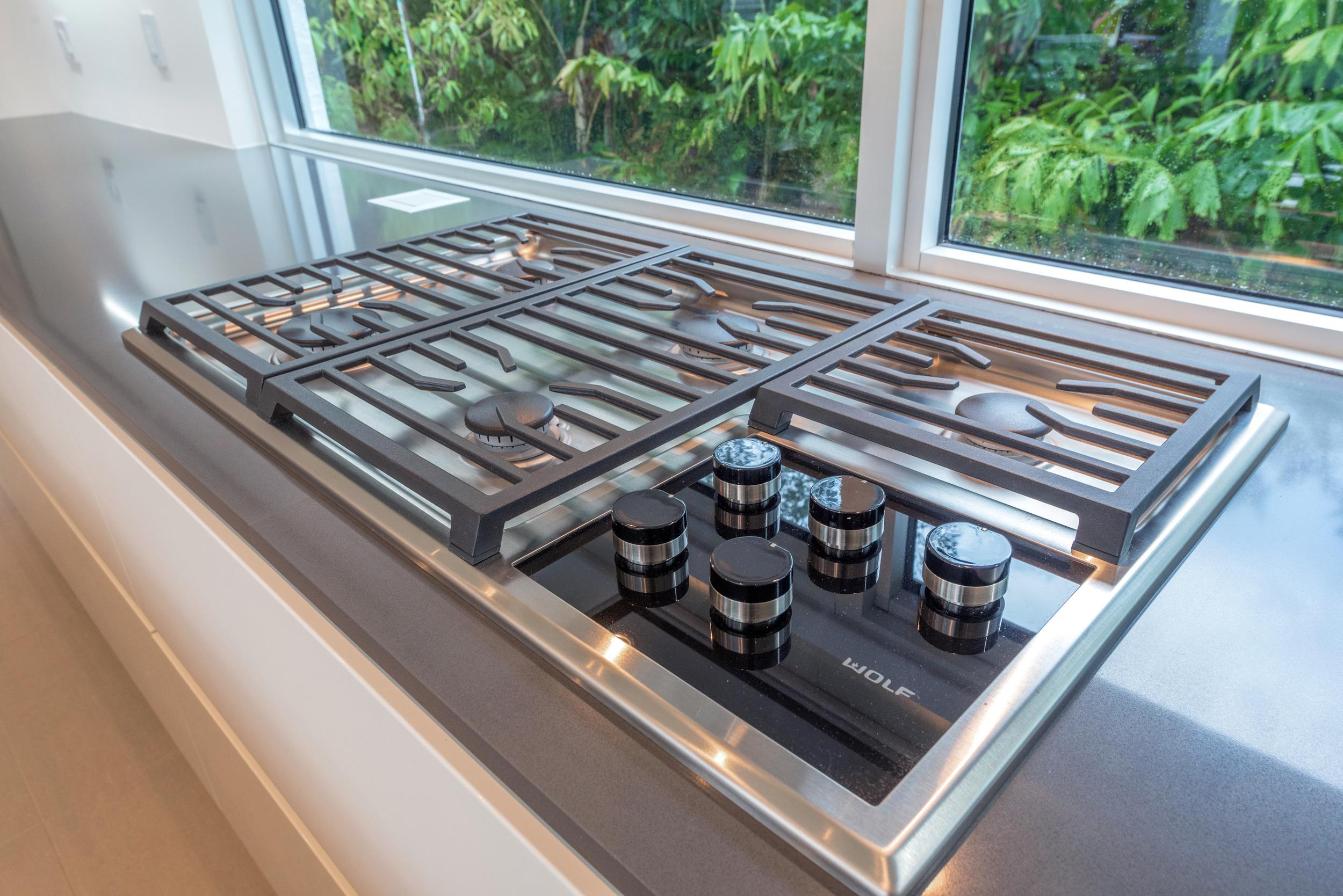 The Setting Homes Plum House Miami Florida Interior Kitchen Oven TARIS Real Estate