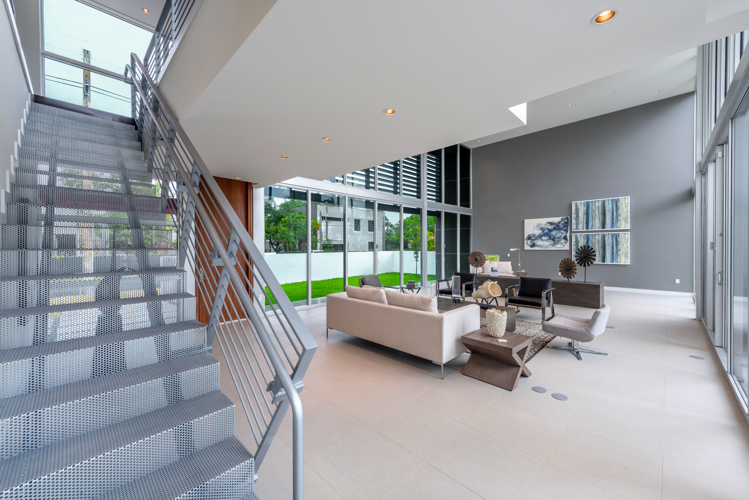 The Setting Homes Plum House Miami Florida Interior Living Room TARIS Real Estate
