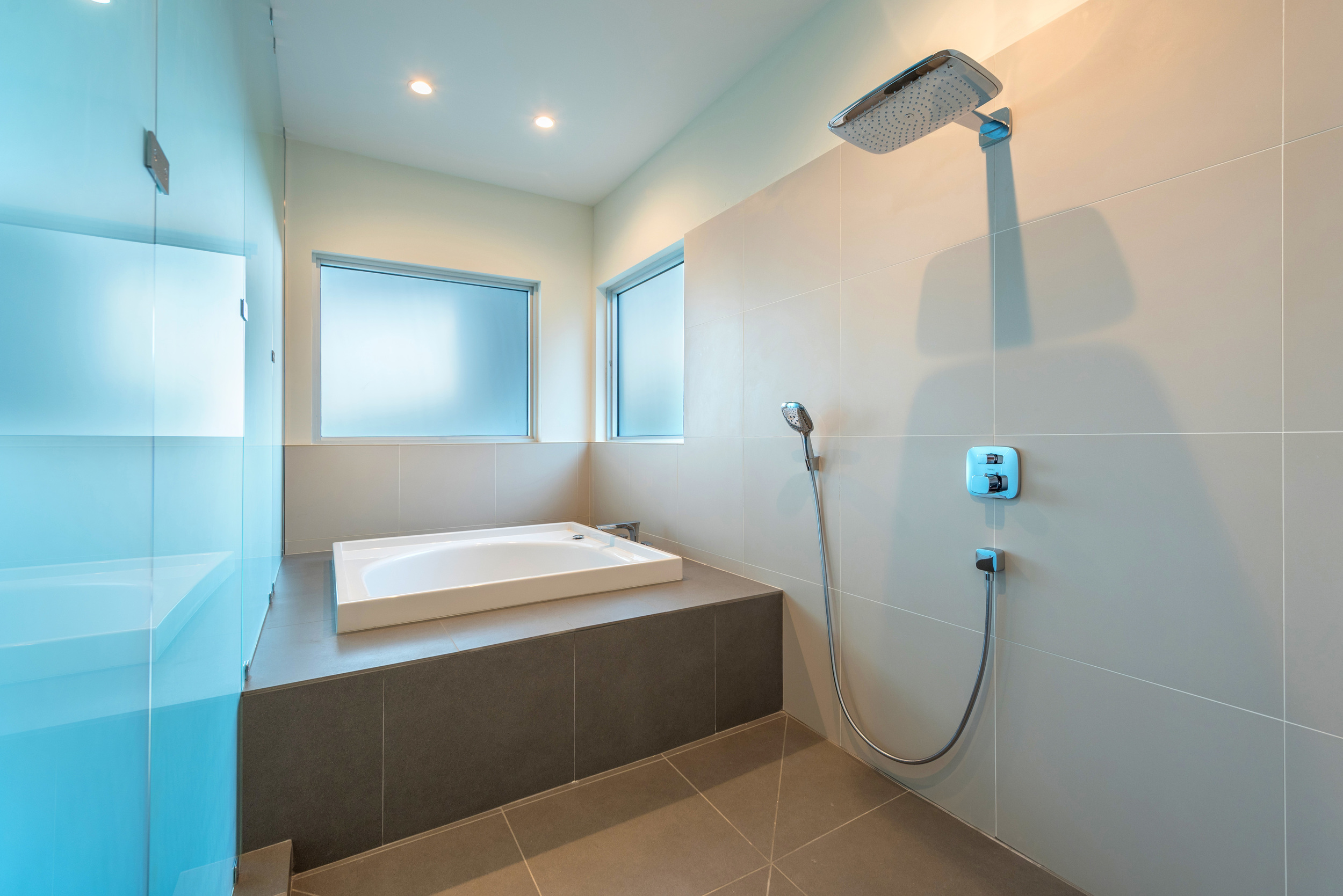 The Setting Homes Plum House Miami Florida Interior Master Bathroom TARIS Real Estate