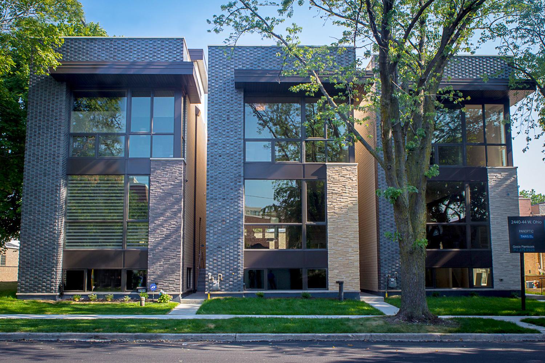2440-2444 West Ohio Chicago Exterior TARIS Real Estate