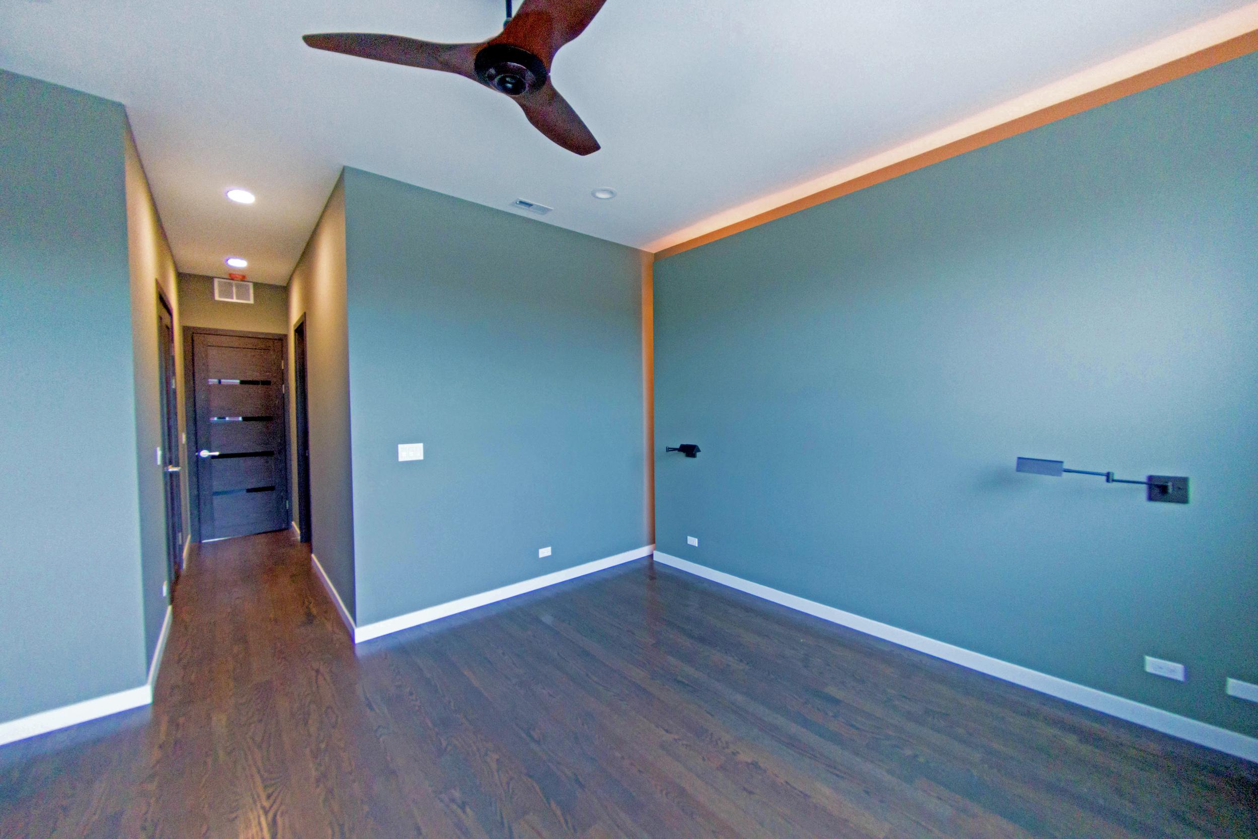 2440 West Ohio Chicago Interior Master Bedroom TARIS Real Estate