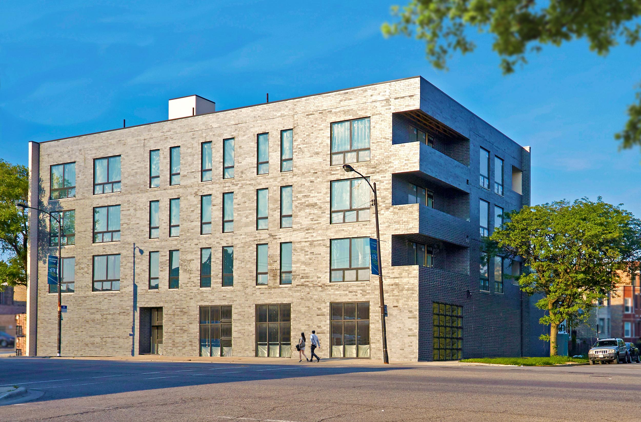 707 North Western Chicago Exterior TARIS Real Estate