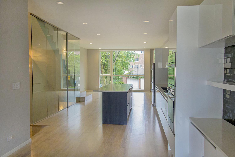 2442 West Ohio Chicago Interior Kitchen TARIS Real Estate