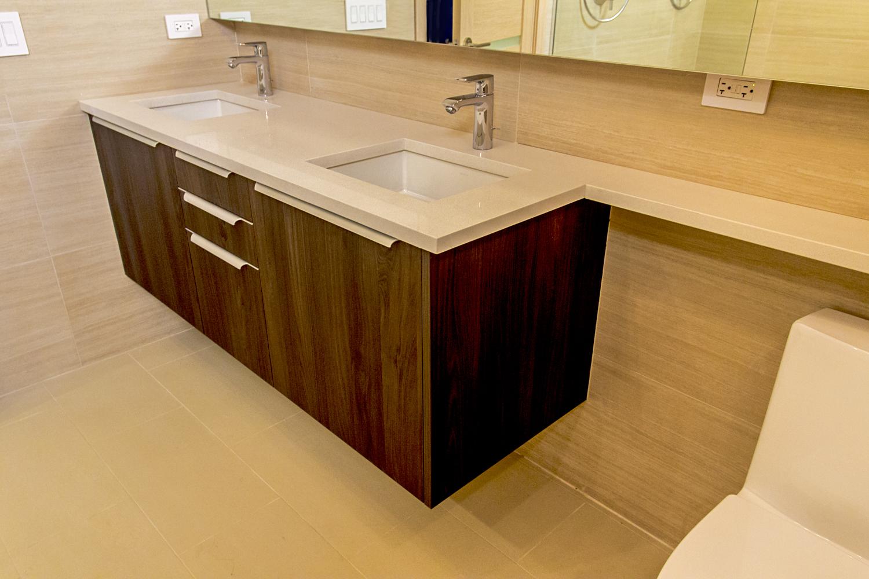 2442 West Ohio Chicago Interior Master Bathroom TARIS Real Estate