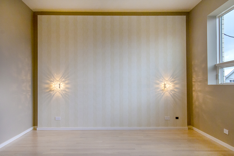 2442 West Ohio Chicago Interior Master Bedroom TARIS Real Estate