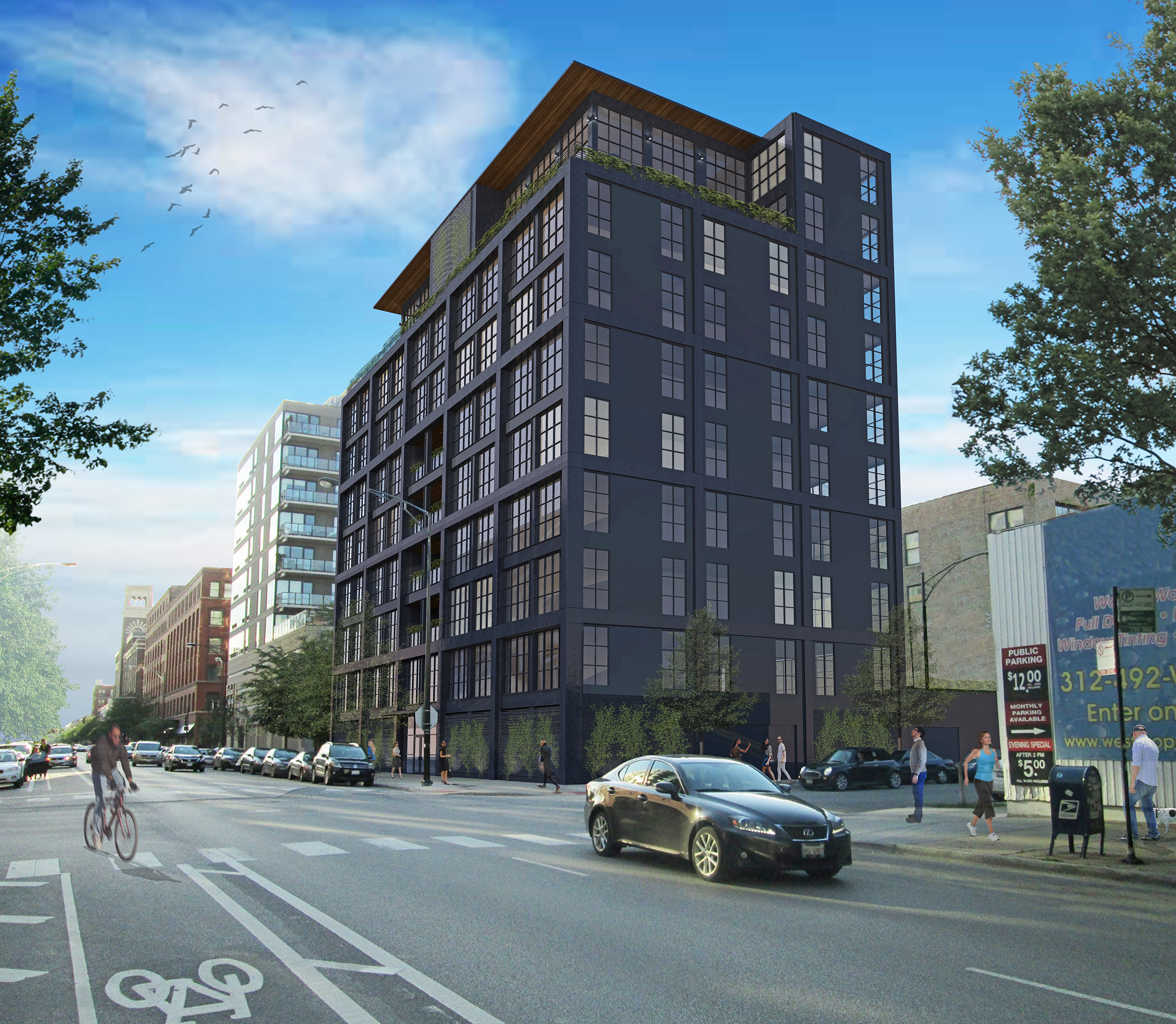 900 West Development Exterior