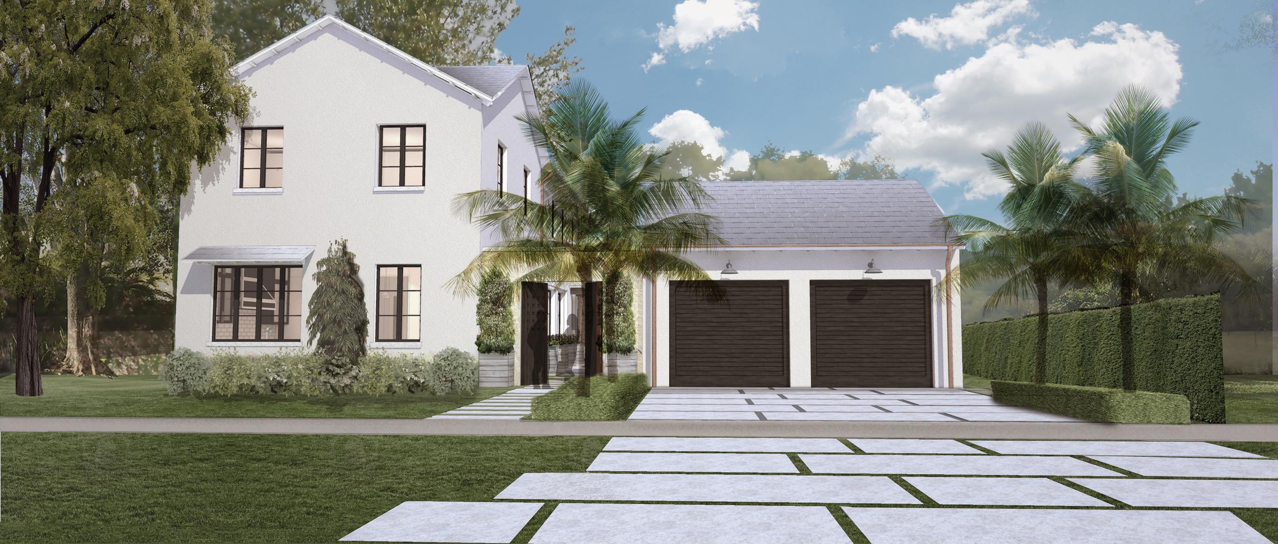 Escobar House - Coral Gables, Florida Exterior