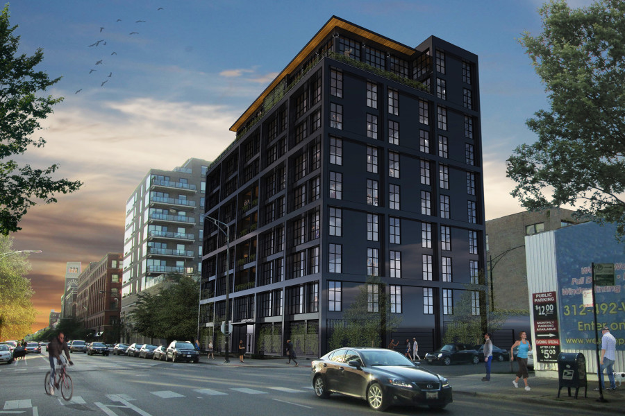 900 West Washington Exterior Render