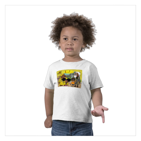 The Bino & Fino Family Shirt   This lovely shirt is perfect for toddlars who are either out playing all day or taking a well needed nap. It always looks good and it's100% super cotton.