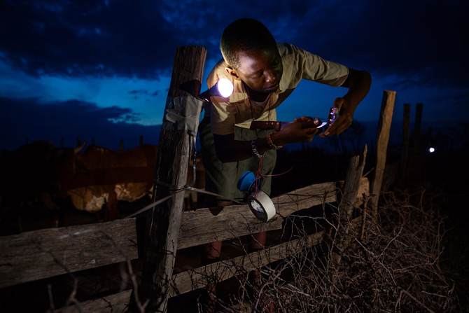 Richard Turere: A13 year old Kenyan whiz kid renowned for creating'Lion Lights', a fence made of solar charged light cells which quickly & effectively scares offlions in cattle rearing towns and villages.