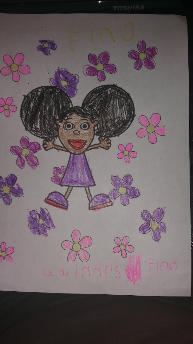 Quinn's Colouring Page