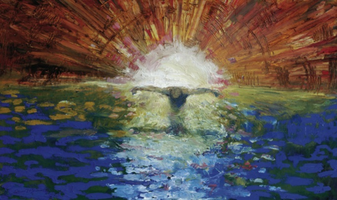 """Baptism of Christ"" by Daniel Bonnell (1999)"