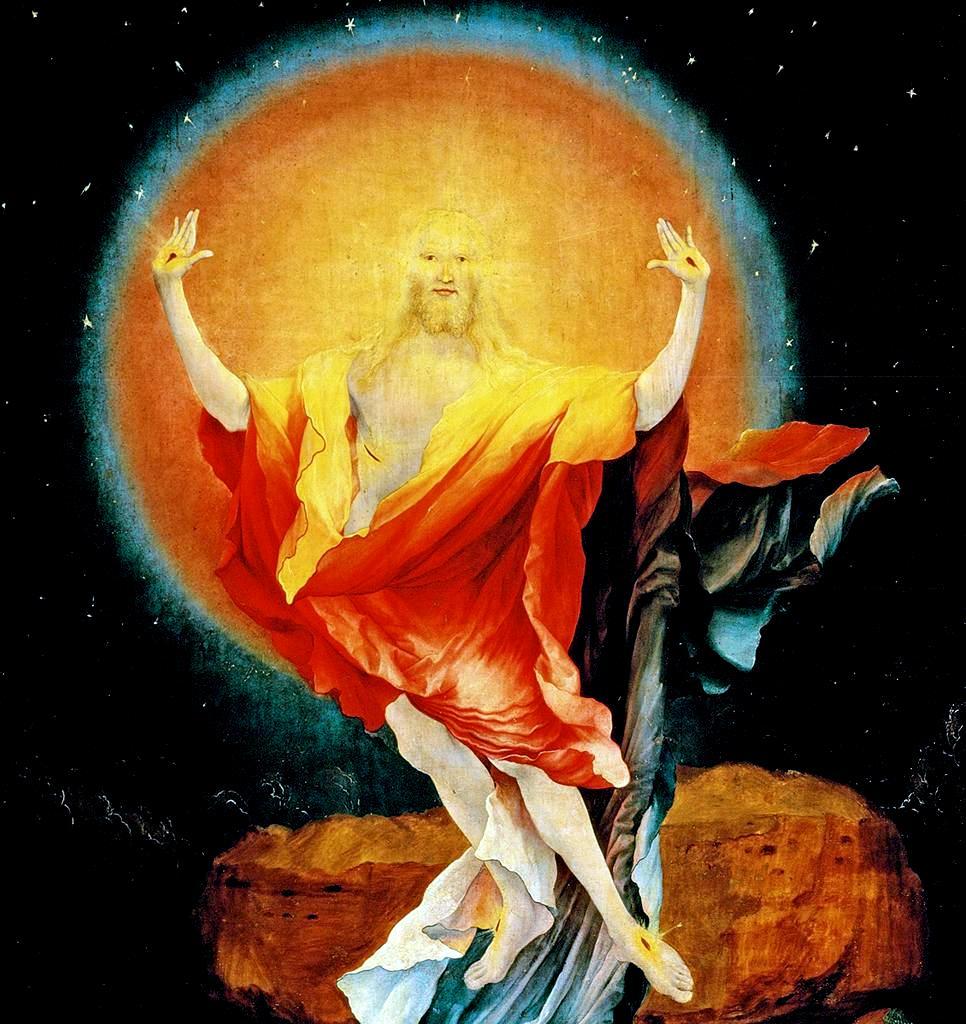 """Resurrection"" by Matthias Grünewald (ca. 1470-1528)"