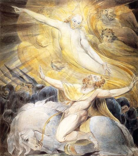 Conversion of Saul by William Blake
