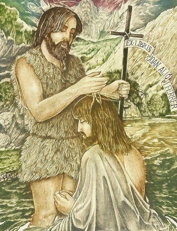 """""""Baptism of Jesus"""" by Sergey Kirnitskiy"""