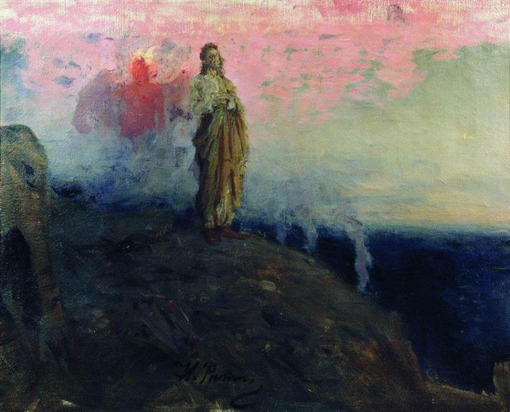 """""""Follow Me, Satan"""" by Ilya Repit (1903)"""