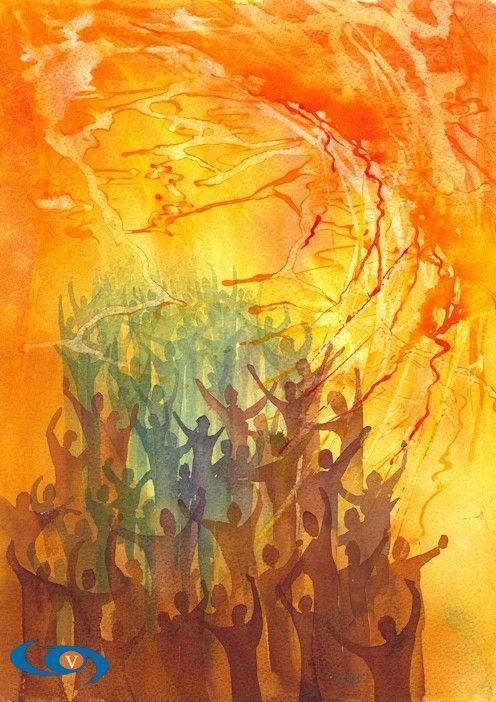 """""""Pentecost"""", by Mark Wiggin"""