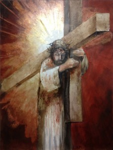 Carrying the Cross , by Liam Jones (2009)