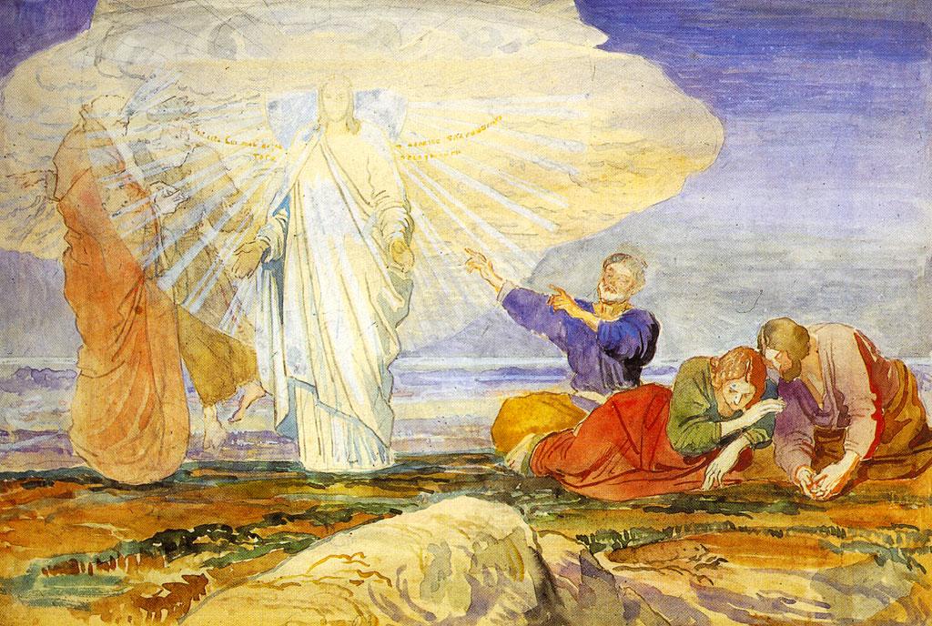 Transfiguration of Christ by Alexandr Ivanov (1824)