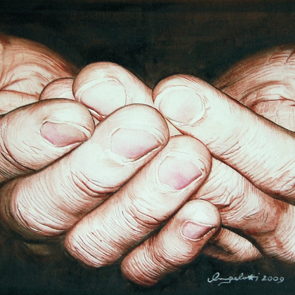 Offering Hands by Paola Angelotti