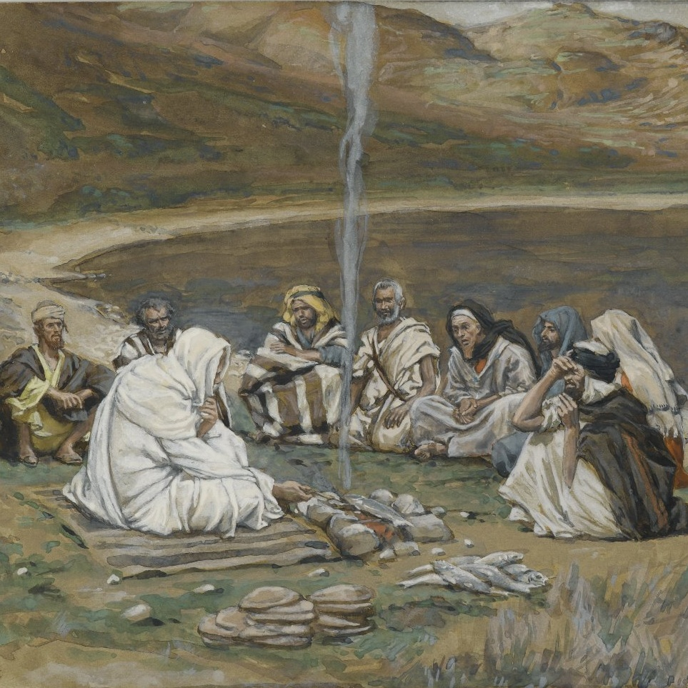 The Meal of Our Lord and the Apostles by James Tissot