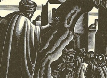 From  The Life of Christ Wood Engravings    By Bruno Bramanti