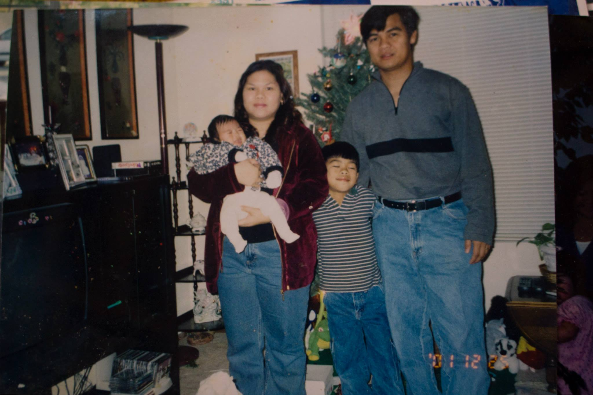 Our first apartment in Brentwood, California. Circa 2001