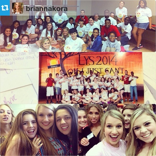 "Here is a #repost from @briannakora! So glad you had such a great week at LYS! --- ""This week... The letters have been read and the group texts have began and all I keep thinking about is when I was saying how bad I wished I could stay home and not go, but God and my school put me at LYS for a reason. I've built friendships that I will never be able to let go of. I've opened my eyes to things about myself that I never realized, and at the same time realized that I am proud to be the person that I am today. My motivation to achieve my life goals are stronger than ever and I owe it all to this seminar. My heart breaks knowing that I won't be able to return as many of my friends will but I pray that these delegates with shine bright when they get home because there is a leader in every single one of them. I love you guys, and I hope to hear of all your achievements! Thank you all for making this such a memorable week. #NoManIsAnIsland. #LYS2014"""