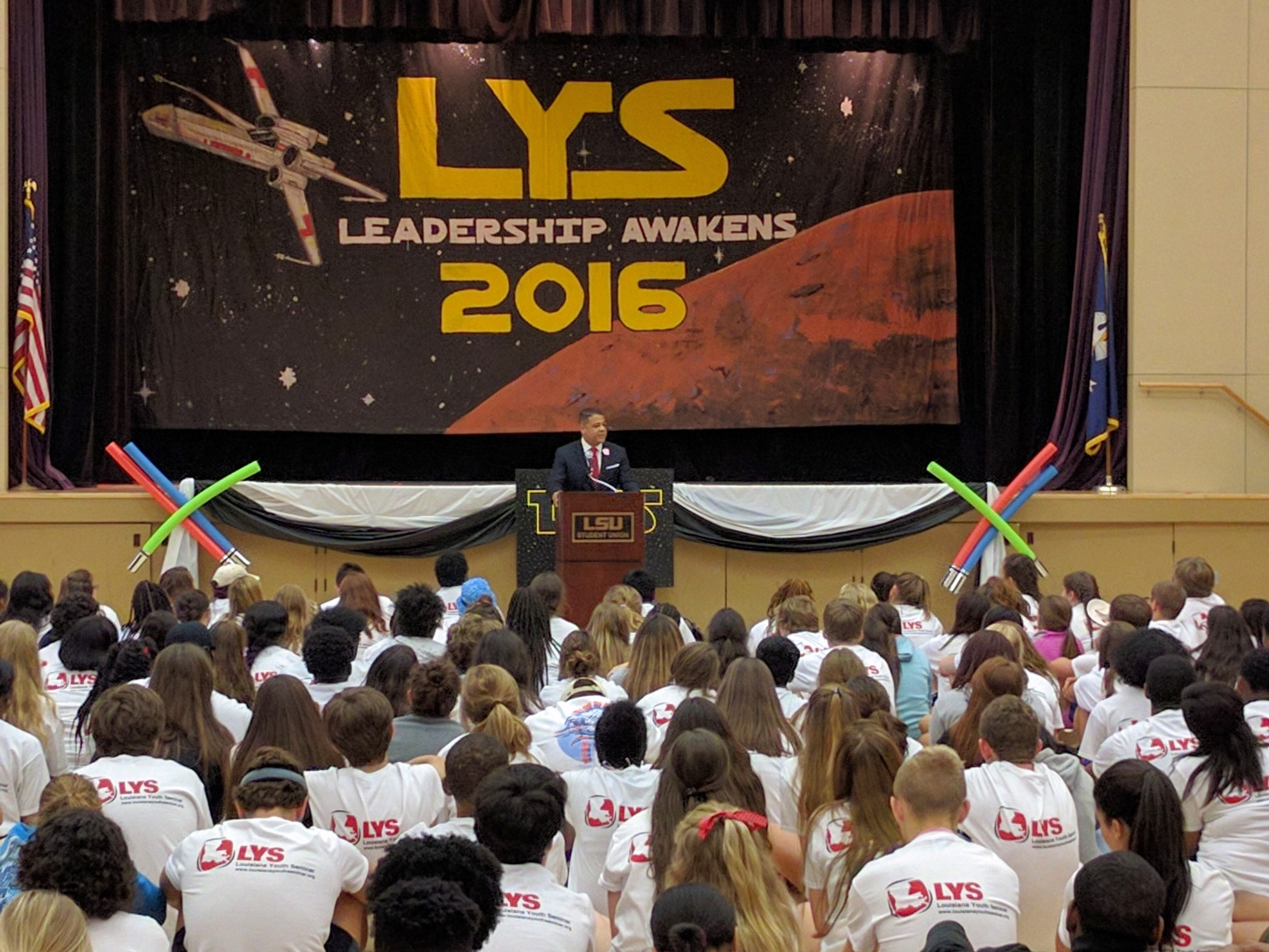 """""""I see the world differently because I attended Louisiana Youth Seminar"""" - Don Cravins, Jr."""