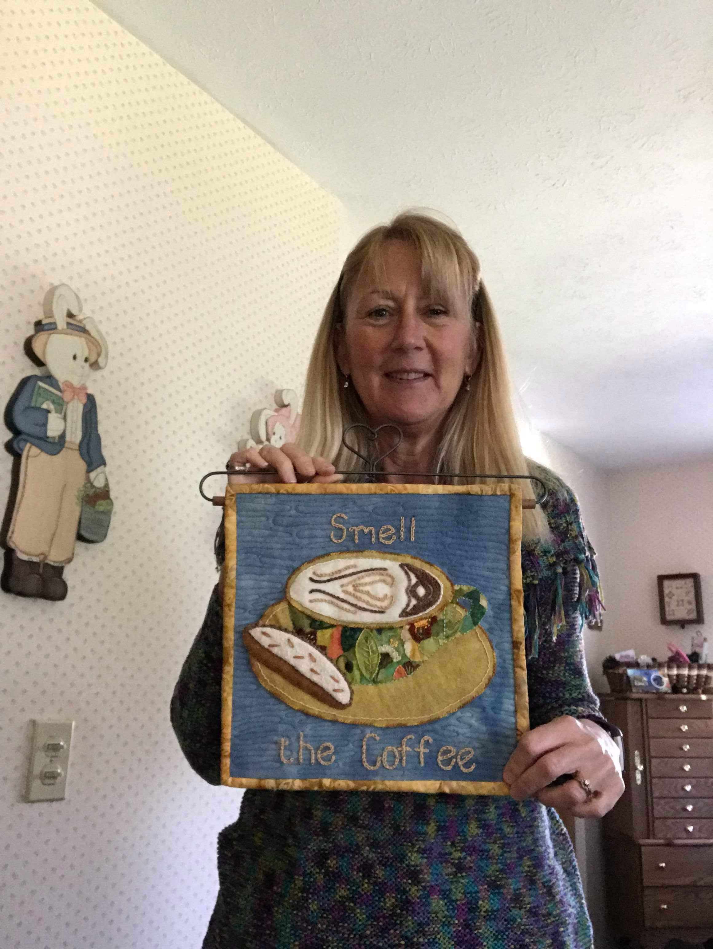 Linda Rife and her  Tuscany Cappuccino