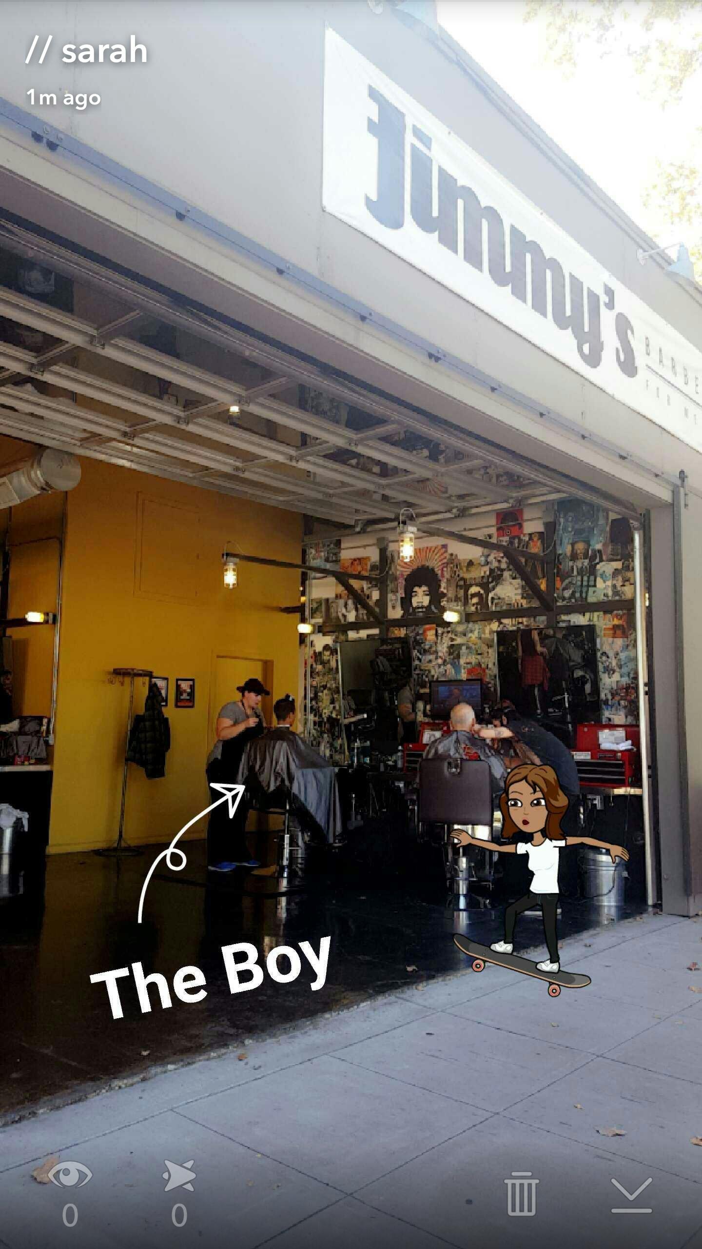 Jimmy's Barber Garage, Midtown Sacramento