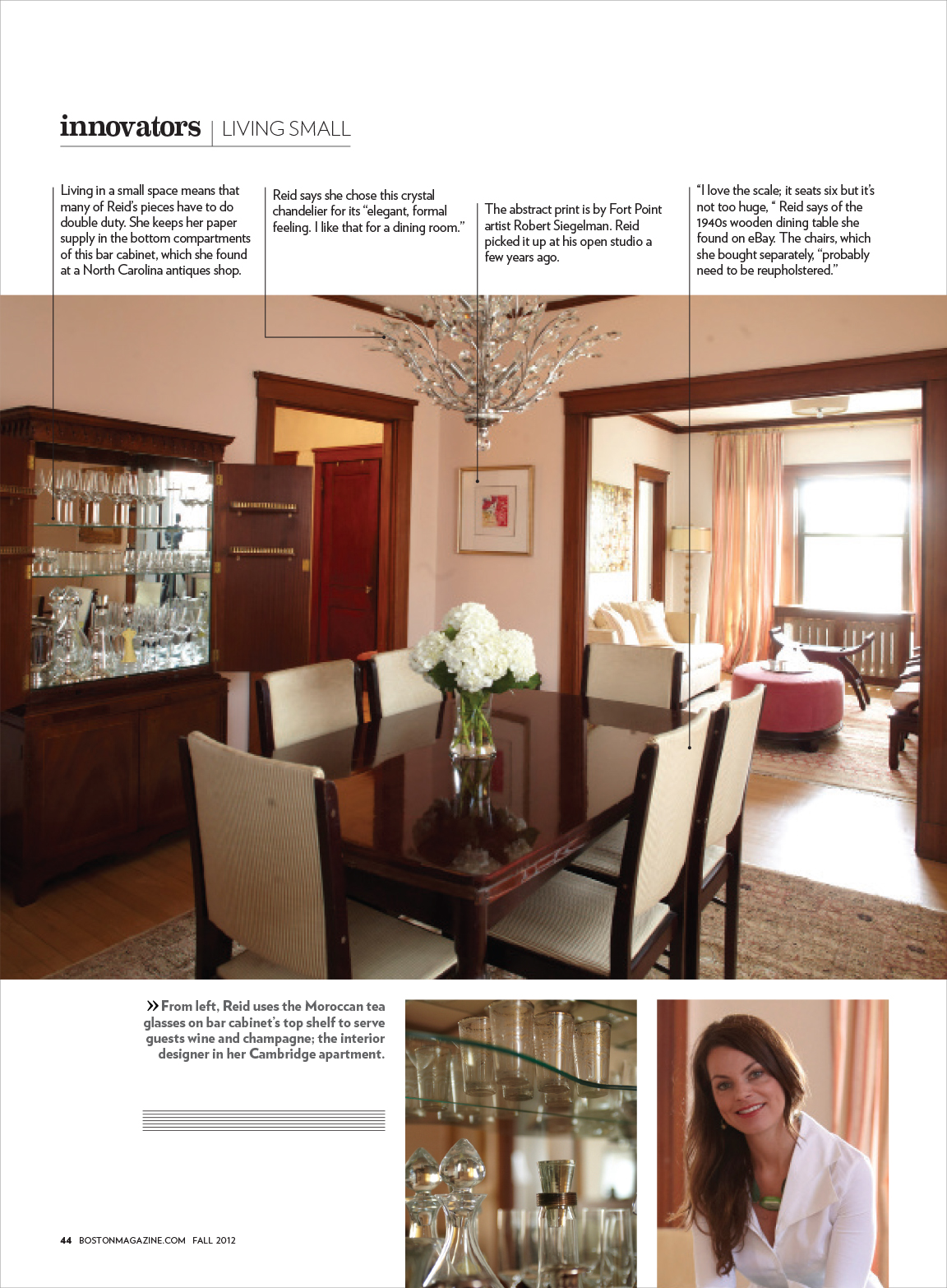 Mandarina Studio :: Boston Home Interior Design Magazine