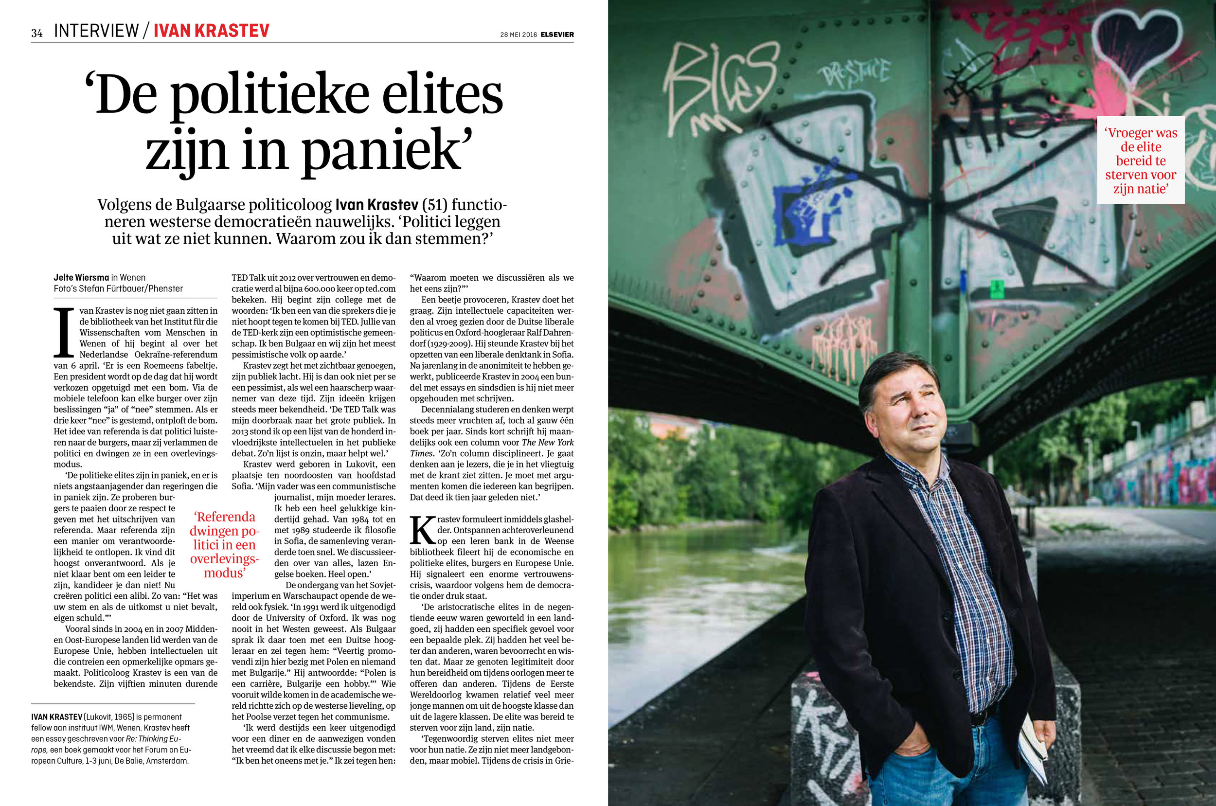 Ivan Krastev for Elsevier