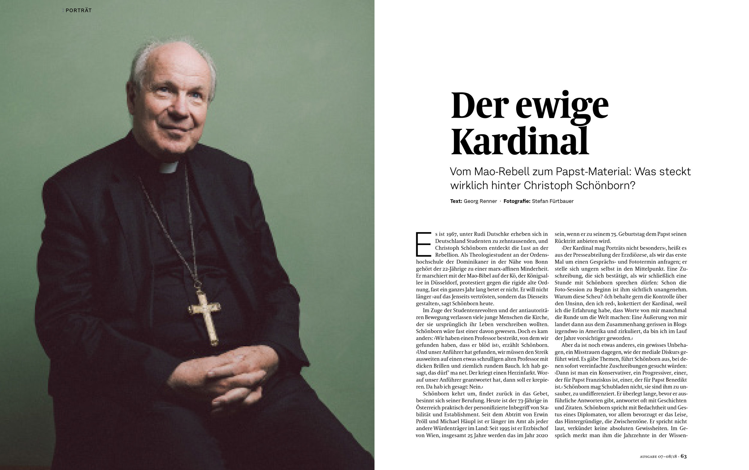 Cardinal Schönborn for DATUM