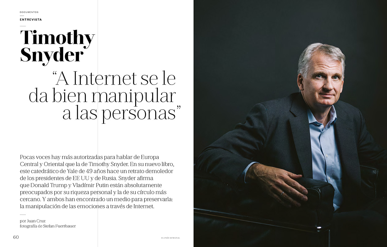 Timothy Snyder for El País Semanal