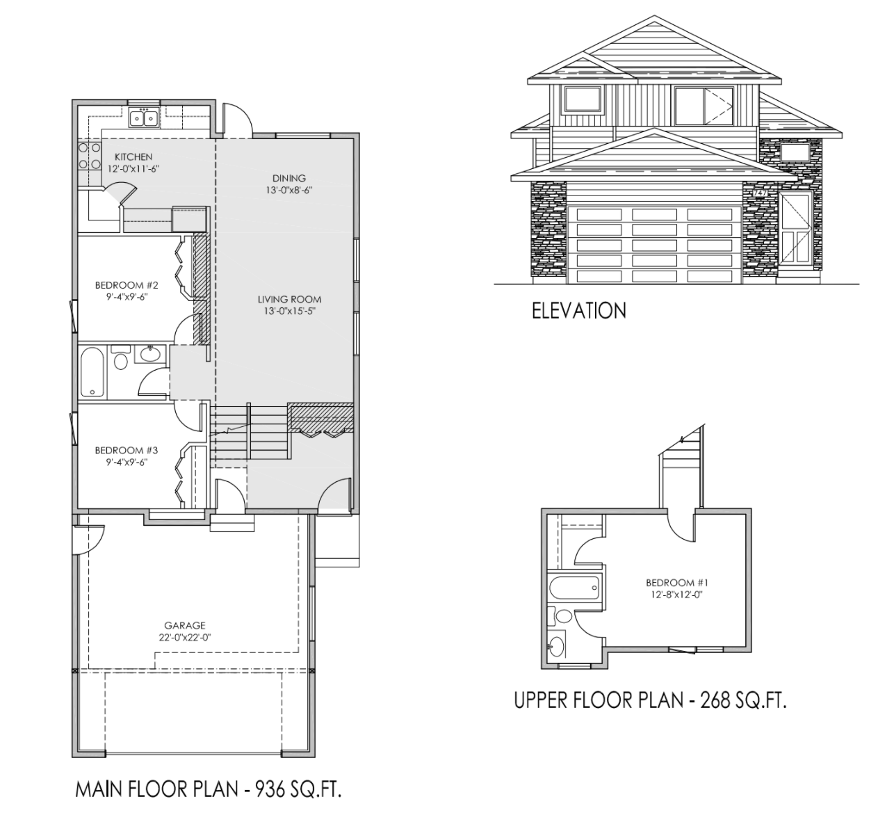 1204 sq.ft modified bi-level