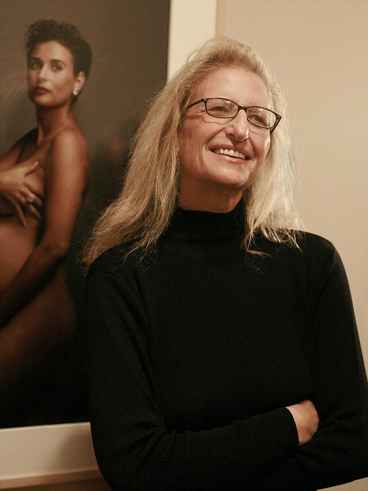 shot by Marc Silber, Annie Leibovitz, 2008