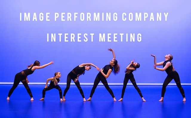 TONIGHT!!! 6:30pm at the studio! Come learn about our Performing Company (IPC) and meet our Directors!