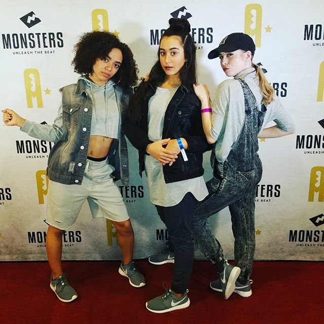 Monsters weekend is off to a great start! It was so fun to watch this trio perform last night! Have a great time in classes today everyone! #monstersofhiphop #teamISOD