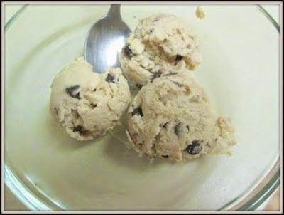Chocolate Chip Cookie Dough Frozen Yogurt