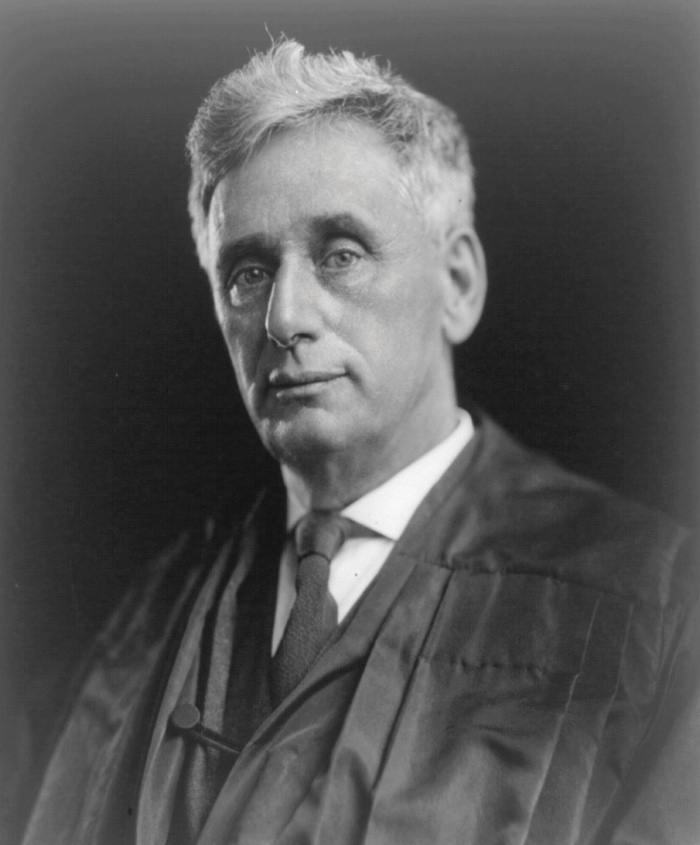 Supreme Court Justice Louis D. Brandeis, a Louisville native