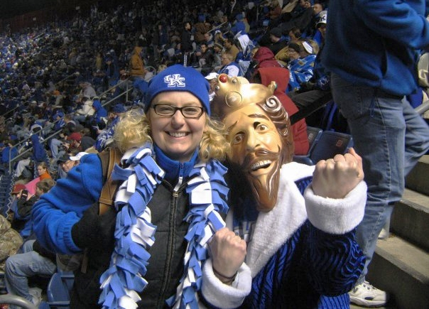 I ran into this guy at the 2007 Music City Bowl.