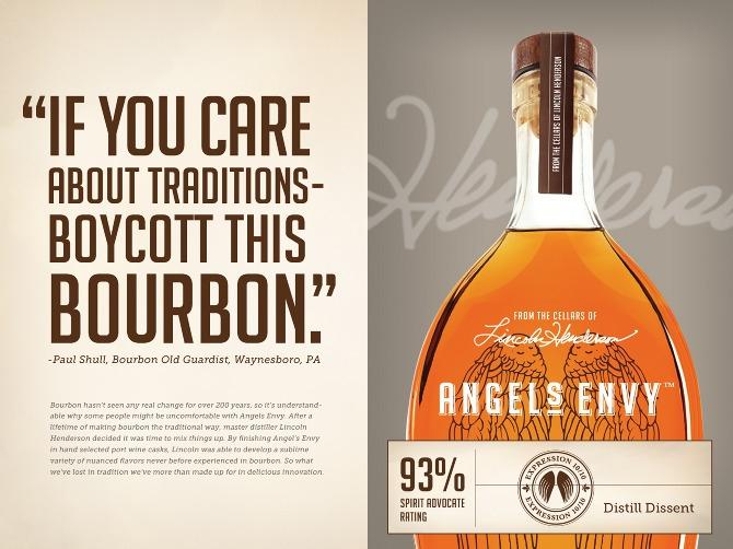 Angels Envy Bourbon Ad Louisville KY