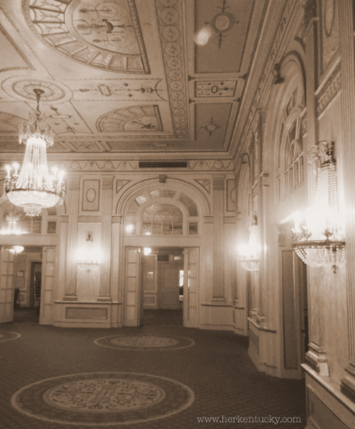 Crystal Ballroom, Brown Hotel.